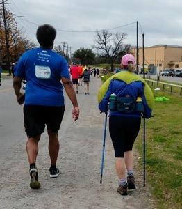 Can I Walk During a Half Marathon - Trekking poles