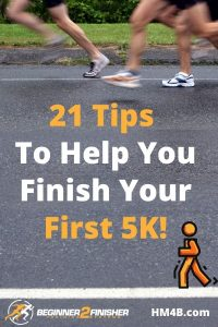 Top Tips To Help You Finish Your First 5K Race - pinterest
