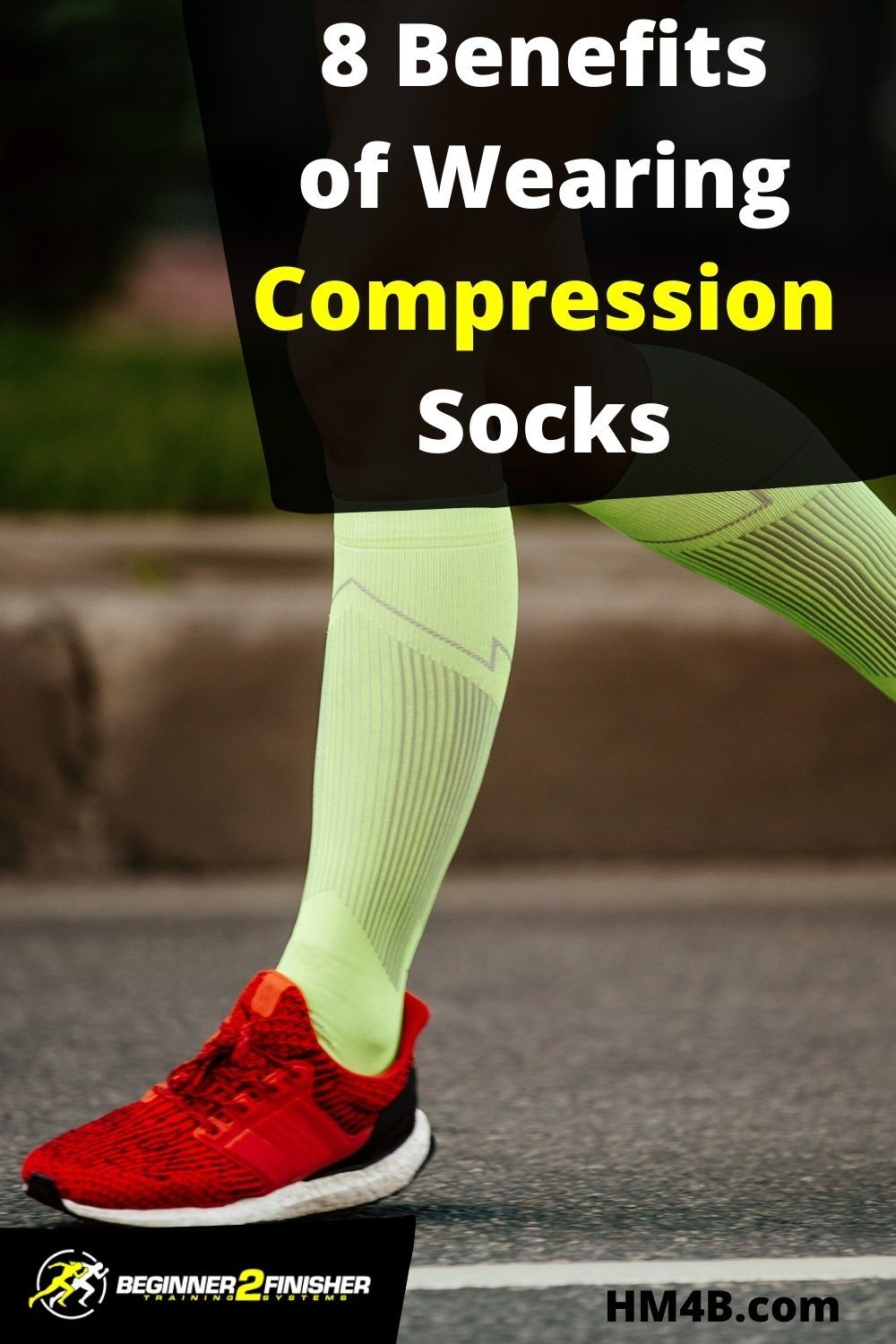 8 Benefits Of Wearing Compression Socks