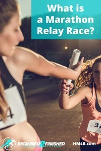 What is a marathon relay race