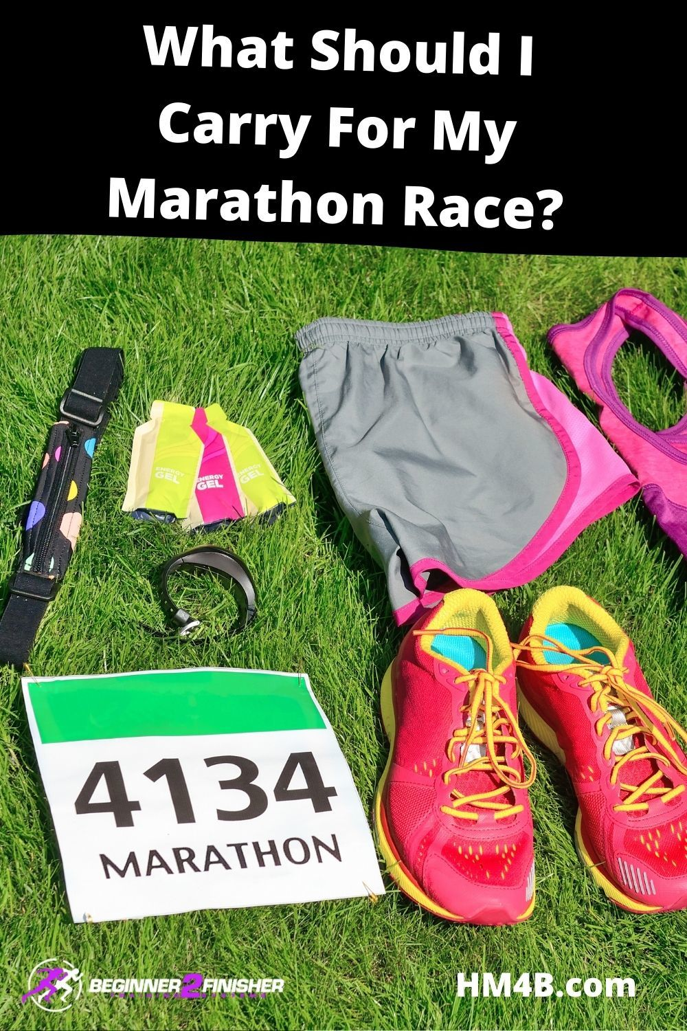 What should I carry during a marathon race?