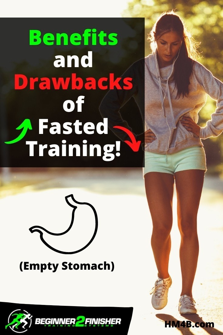 What is fasted training or empty stomach running?