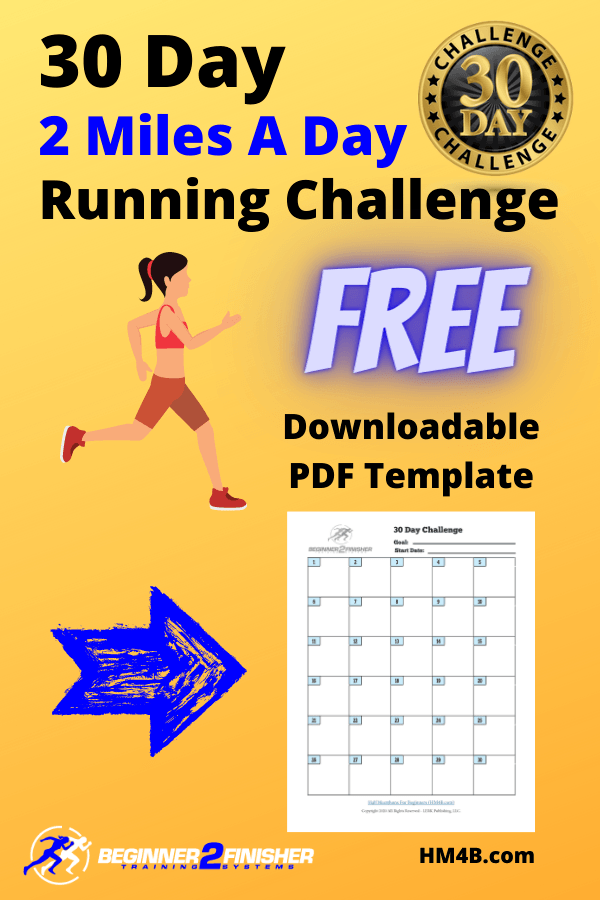 30 day 2 miles a day challenge