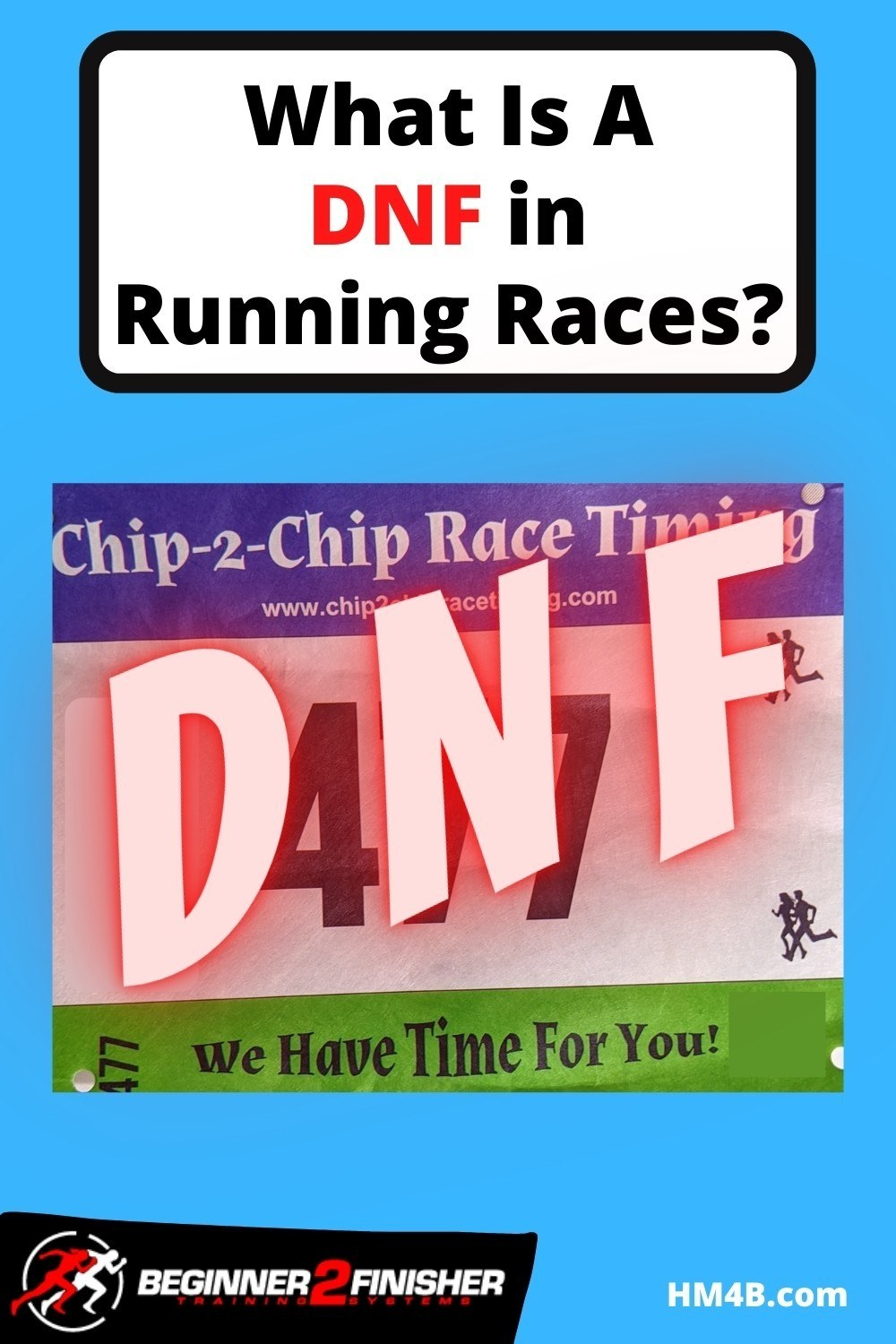 What is a DNF in Running Races? 3 letters all long distance runners fear!