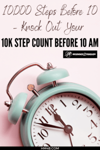 10000 Steps Before 10