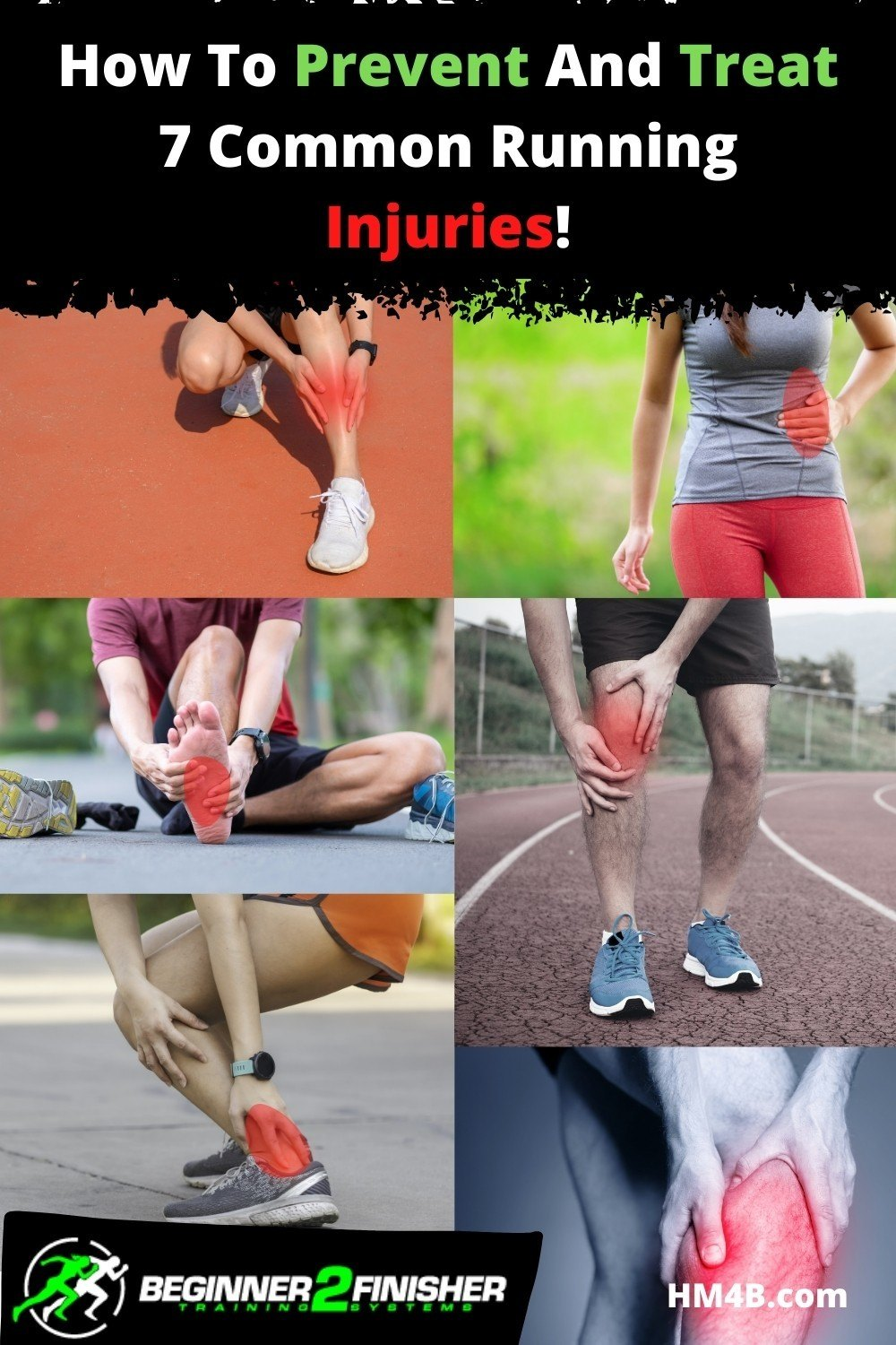 How To Prevent And Treat 8 Common Running Injuries!