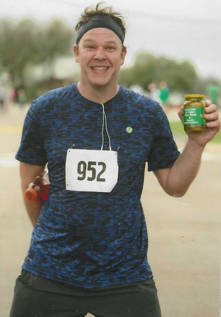 Why Do Runners Drink Pickle Juice - Pickle 5K - 2nd in age