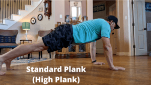 Best Core Exercises For Runners - High Plank
