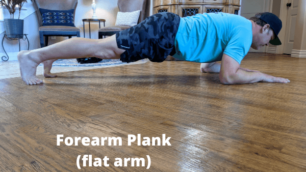 Best Core Exercises For Runners - Plank Forearm