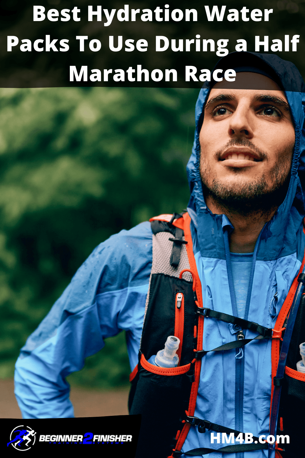 Best Hydration Water Pack For A Half Marathon or Marathon Race