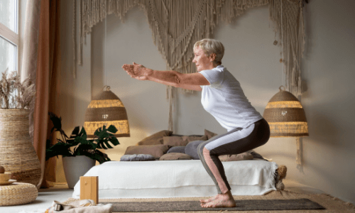 Best Yoga Poses For Runners - Chair Pose