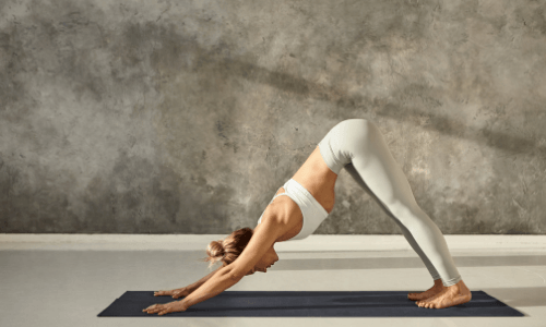Best Yoga Poses For Runners - Downward Facing Dog