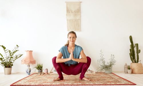 Best Yoga Poses For Runners - Garland Pose
