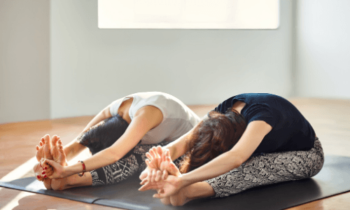 Best Yoga Poses For Runners -Seated Forward Bend