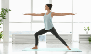 Best Yoga Poses For Runners - Warrior Pose