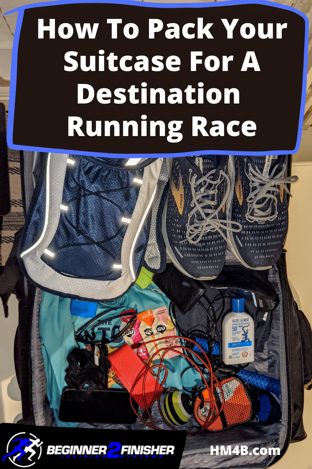 How To Pack Your Suitcase For A Destination Running Race!