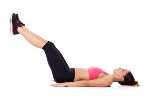 Runner Hamstring Exercises - Lying Leg Lifts